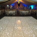 Star Lit Dance Floor White