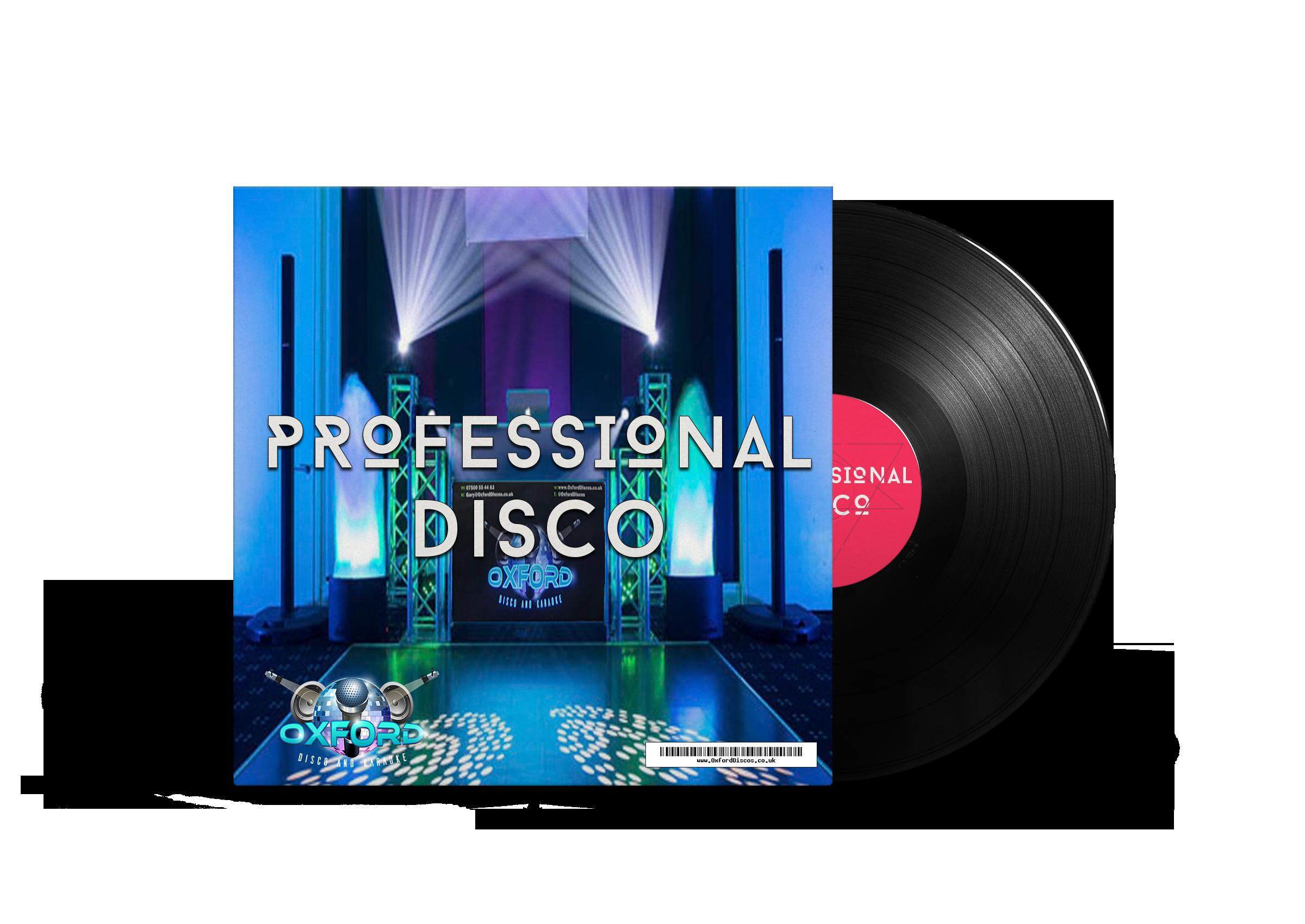 Professional Disco - Oxford Disco And Karaoke