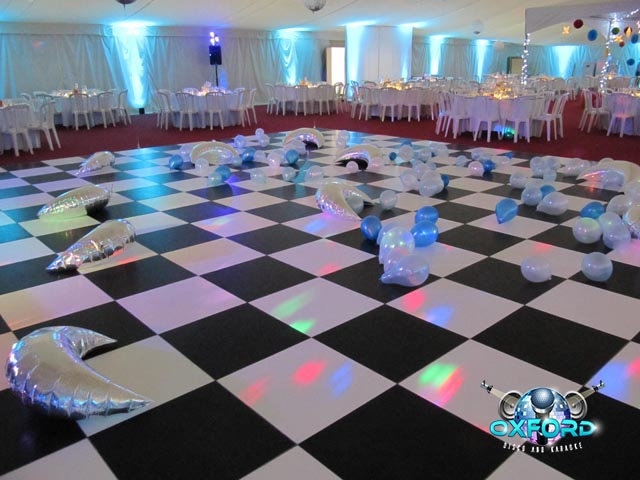Traditional Dance Floor Checkered
