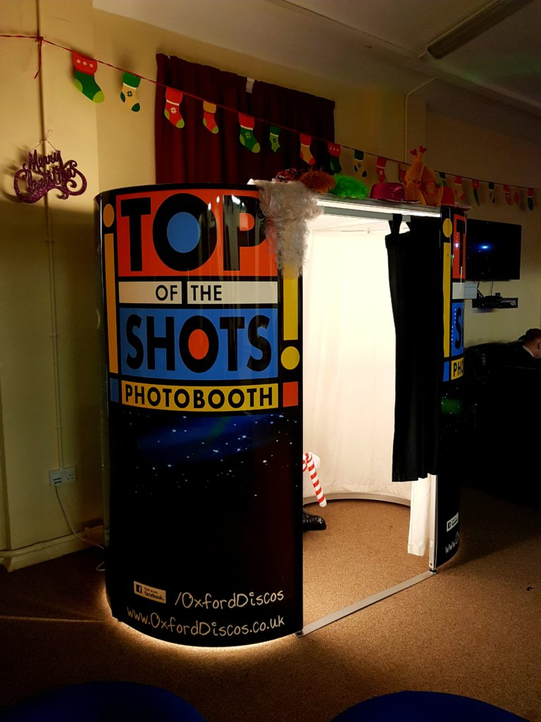 Oxford Disco And Karaoke Top Of The Shots Photo Booth Party Design