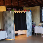 Oxford Disco and Karaoke in Oxfordshire - Top top of the Shots Photo Booth White Wedding Design