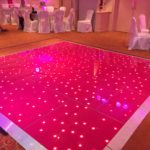 Pink LED Dance Floor - Oxford Disco and Karaoke in Oxfordshire
