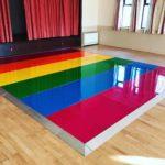 Rainbow Dance Floor - Oxford Disco and Karaoke in Oxfordshire