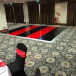 Red & Black Dance Floor - Oxford Disco and Karaoke in Oxfordshire