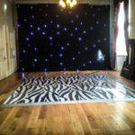 Zebra Print Dance Floor - Oxford Disco and Karaoke in Oxfordshire