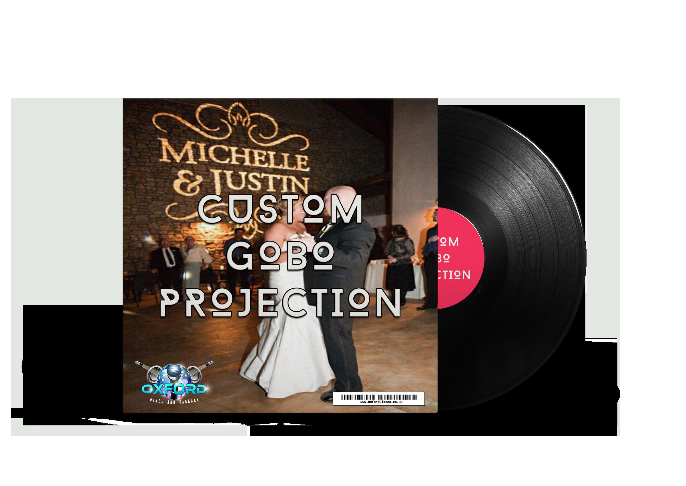 Oxford Disco and Karaoke Custom Gobo Projection