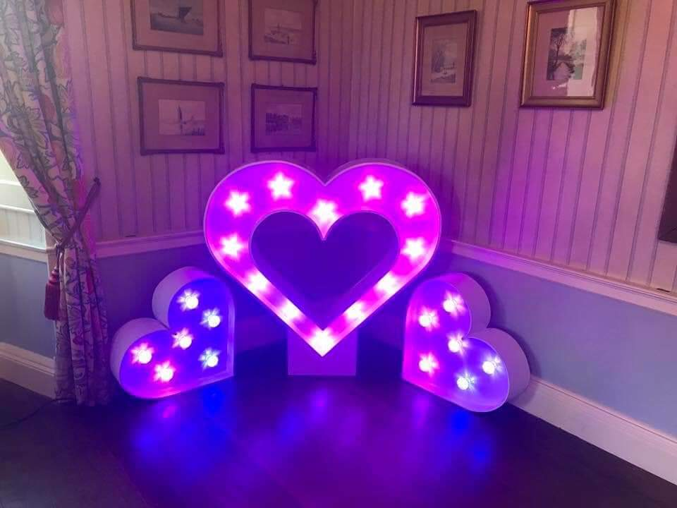 Oxford Disco And Karaoke In Oxfordshire - Giant Tripple Heart