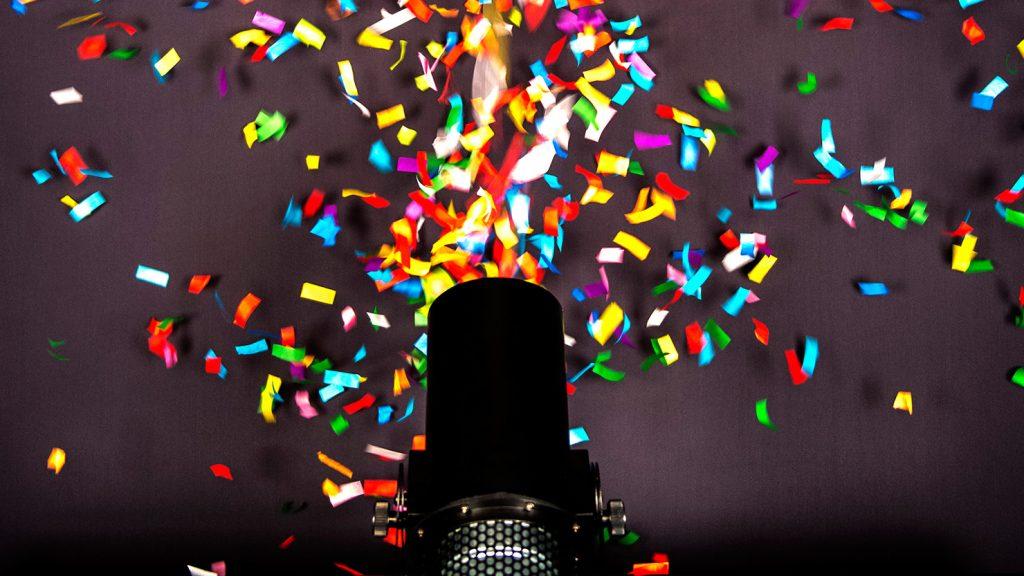 Oxford Disco and Karaoke - Confetti Cannon Shot 1