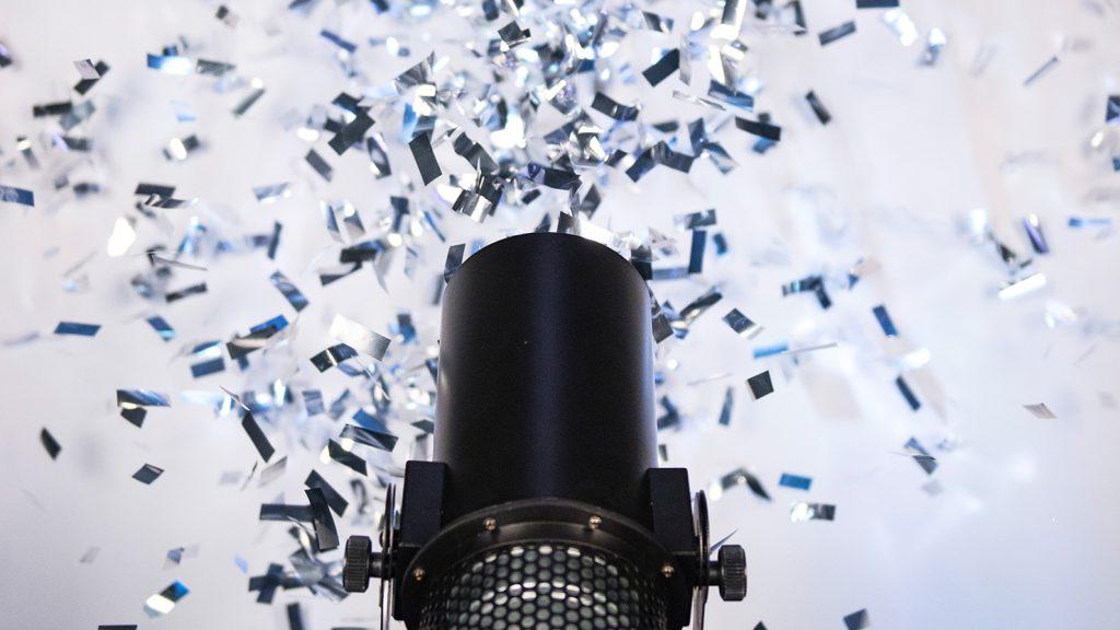 Oxford Disco and Karaoke - Confetti Cannon Shot 2