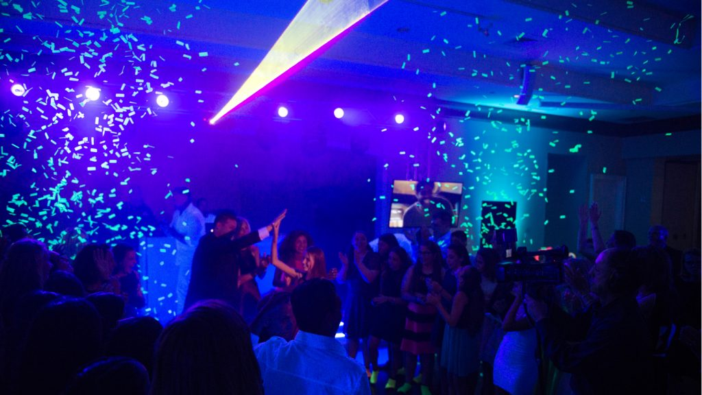 Oxford Disco and Karaoke - Confetti Cannon Shot 3