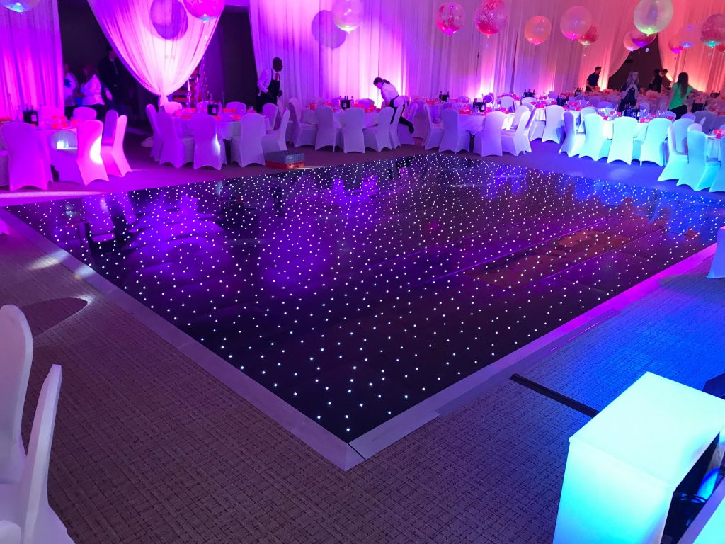 Oxford Disco and Karaoke with LED Black Dance Floor
