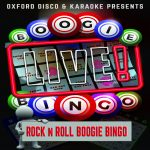 Rock N Roll Boogie Bingo Game Cards