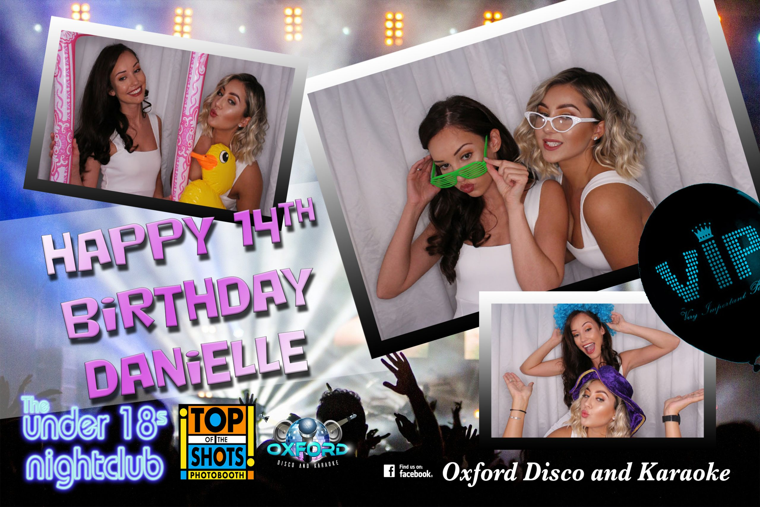 Oxford Disco and Karaoke Under 18s Nightclub Tempalte