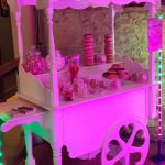 Oxford Disco and Karaoke Sweet Treats Sweet Cart with Mixed Sweet & Doughnuts